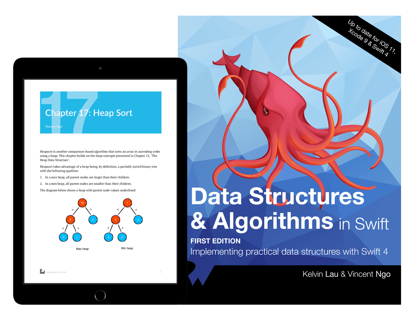 Data Structures & Algorithms in Swift Book