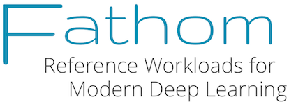 Fathom: Reference Workloads for Modern Deep Learning