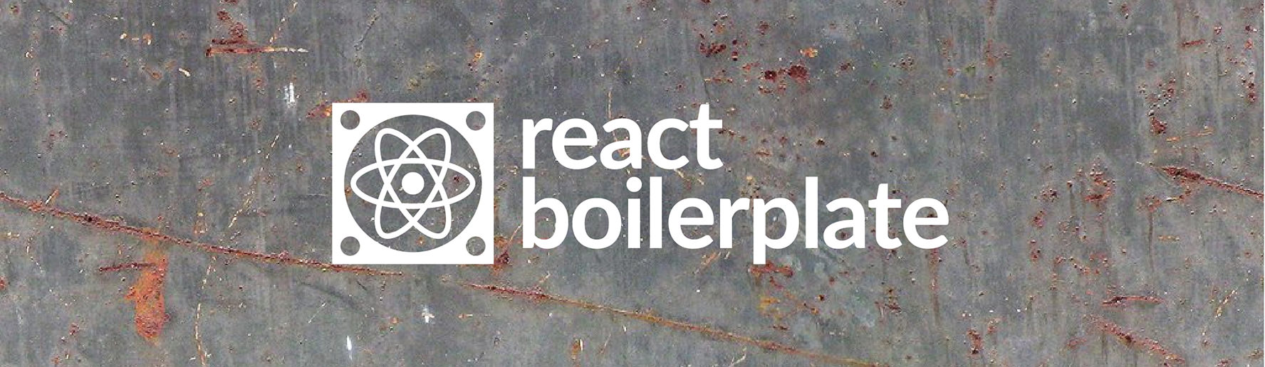 react boilerplate banner