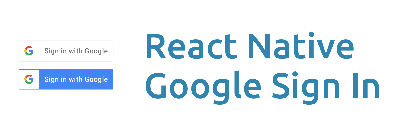 React Native Google Sign In