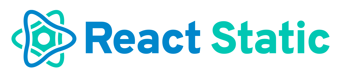 React Static Logo