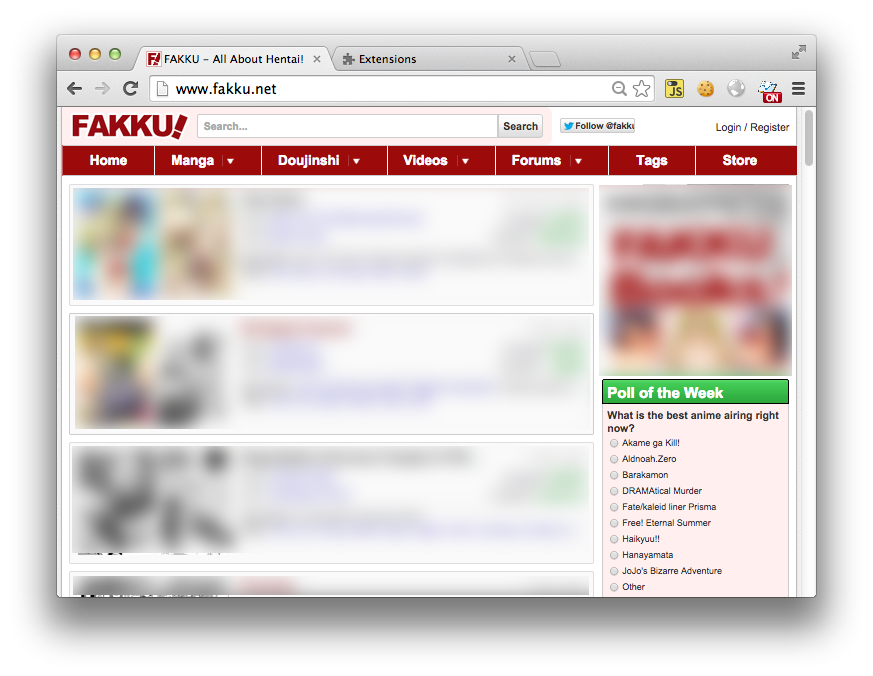 how to download from fakku