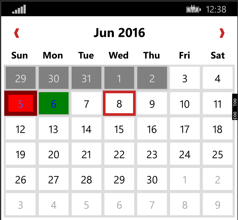 GitHub - rebeccaXam/XamForms.Controls.Calendar: Custom calendar ...