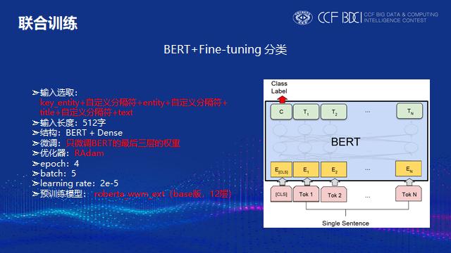 BERT分类