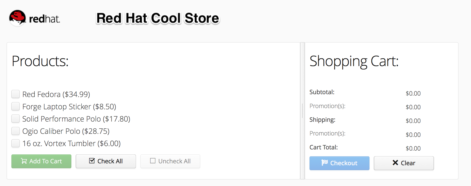 JBoss Store