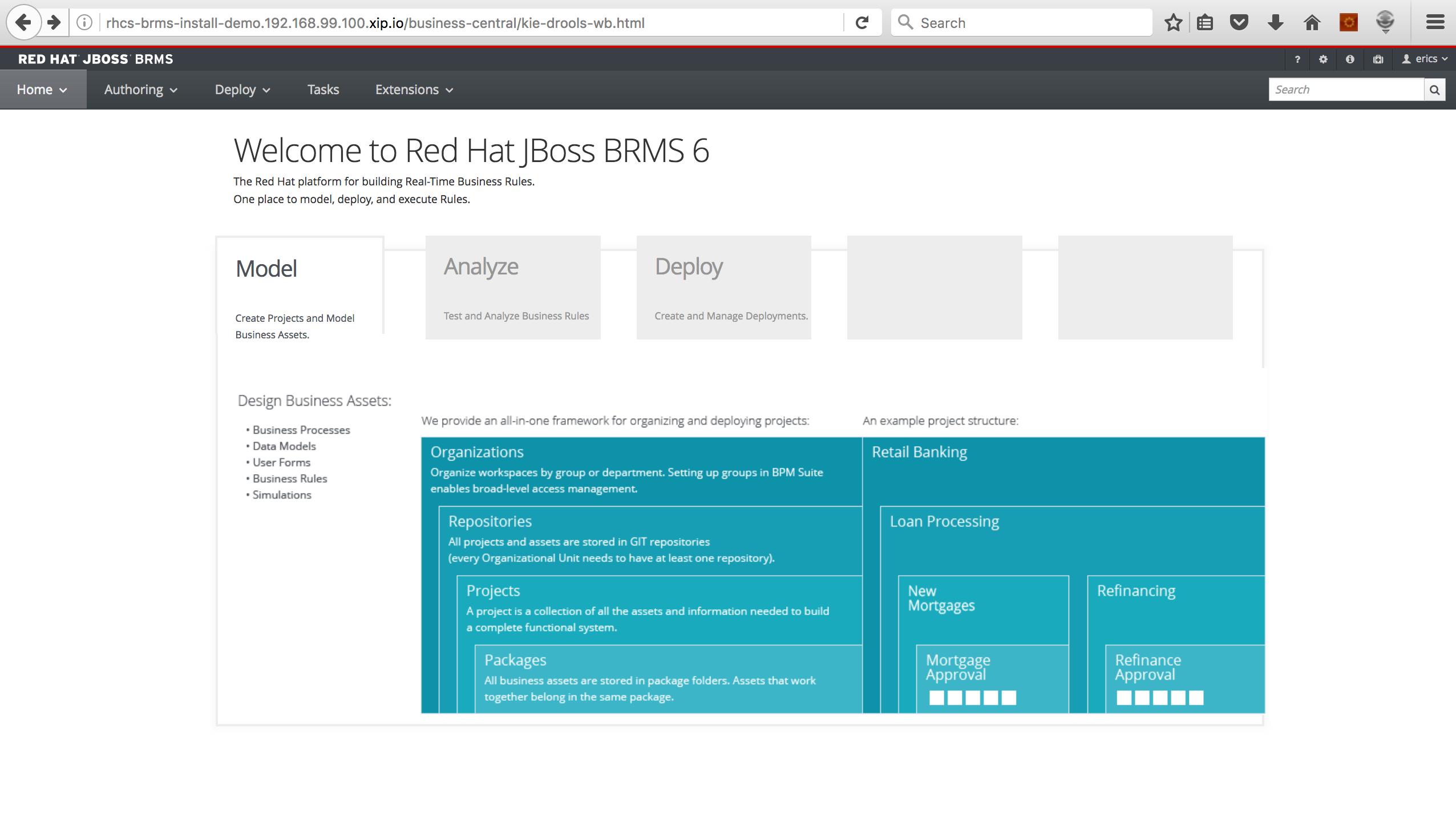 JBoss BRMS