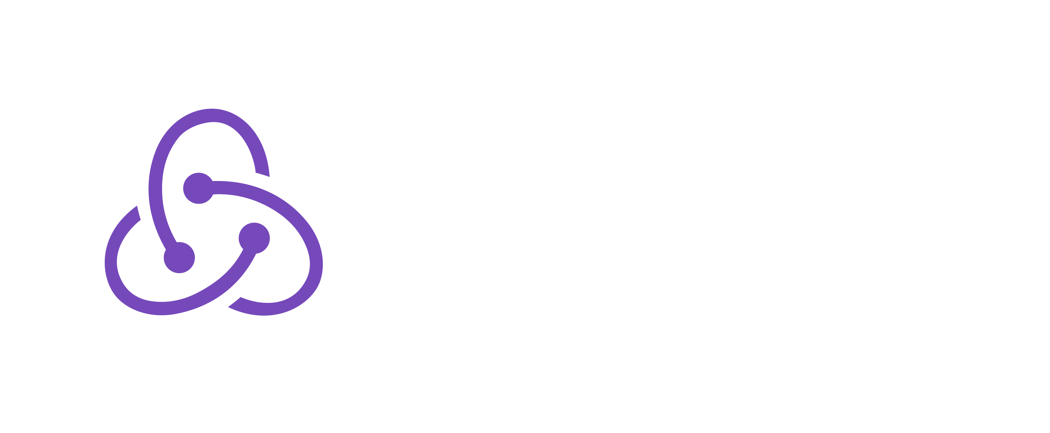 Redux Logo with Light Title