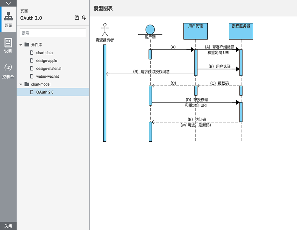 Axure RP 8 导出界面汉化预览