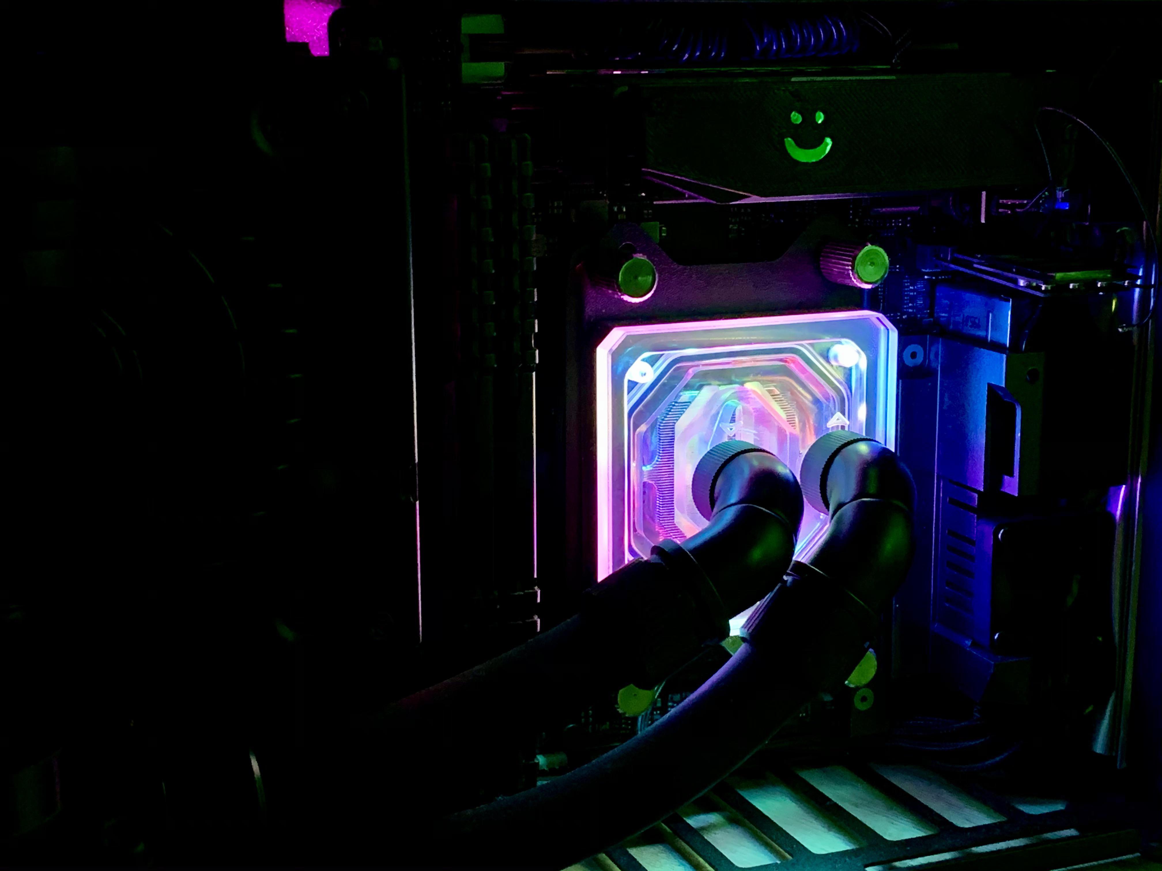 Asus Strix GAMING X570-I Ryzen 9 5950X Radeon 6800 XT