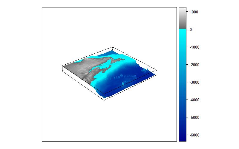 Image 3d bathymetry