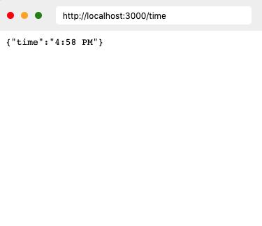 Time API