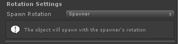 UltimateSpawner - Rotation Settings - Spawner Rotation