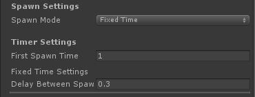 UltimateSpawner - Spawn Settings - Fixed Time