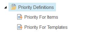 PriorityDefinitions
