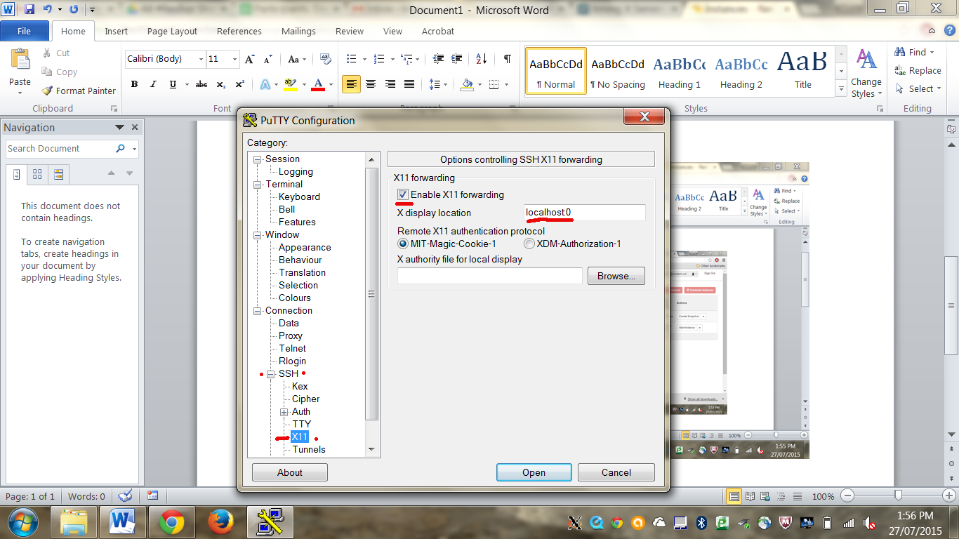 MatLab VM client via Putty & Xming · resbaz/mdcs-setup Wiki · GitHub