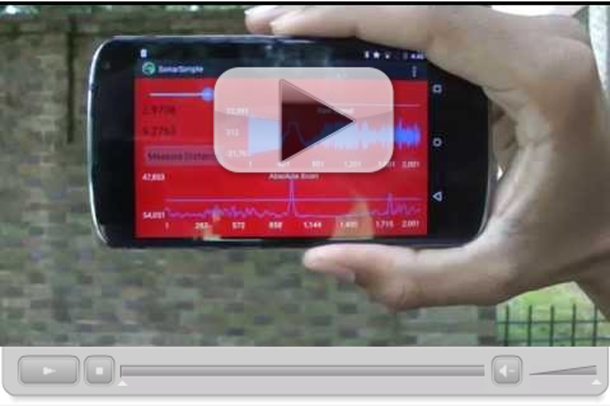 Smartphone Sonar Ranging