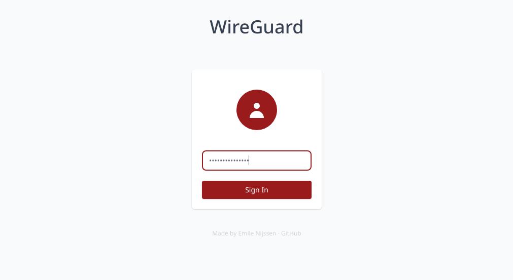 wg-easy密码验证