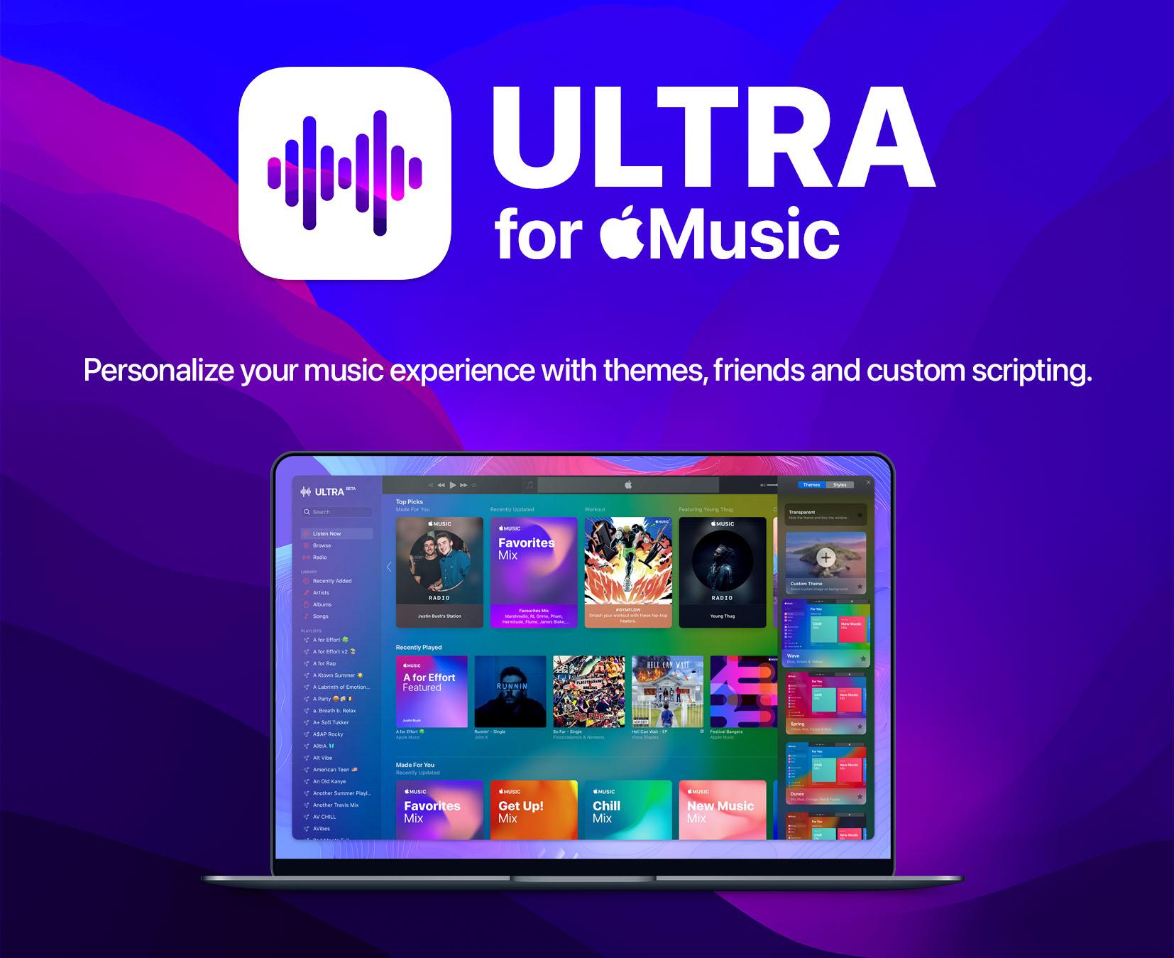 Ultra for Apple Music