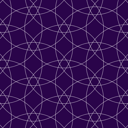 Circles on a hex grid