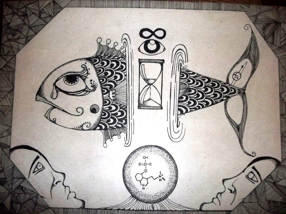 """""""A Transfiguração do Psiconauta"""" - Arte de Tales Francino"""
