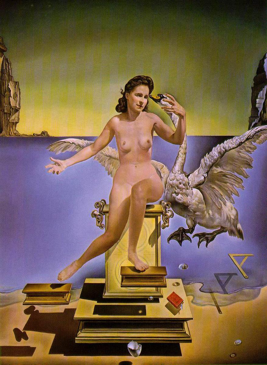 Salvador Dalí – Leda Atomica (1949)