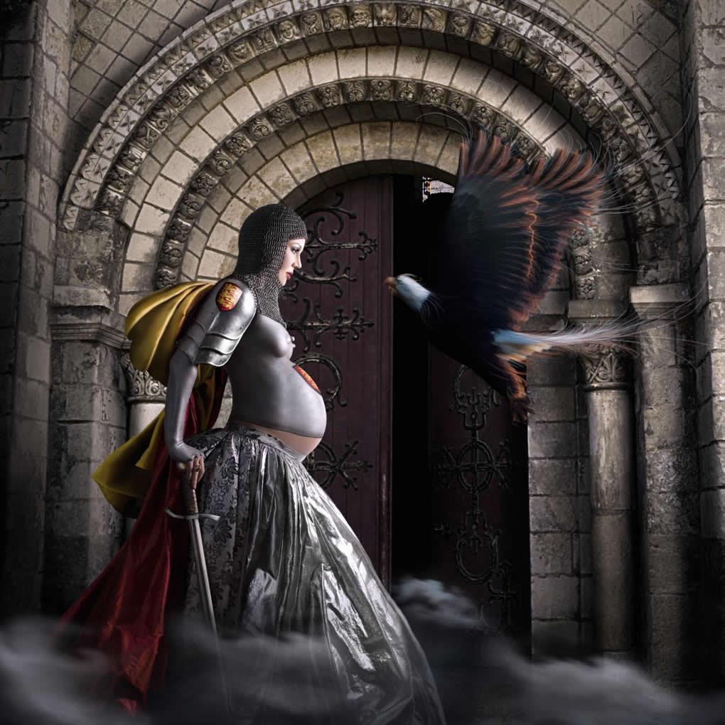 O tiro saiu pela culatra - Eleanor of Aquitaine - The Eagle (Ilustração de Alexia Sinclair)