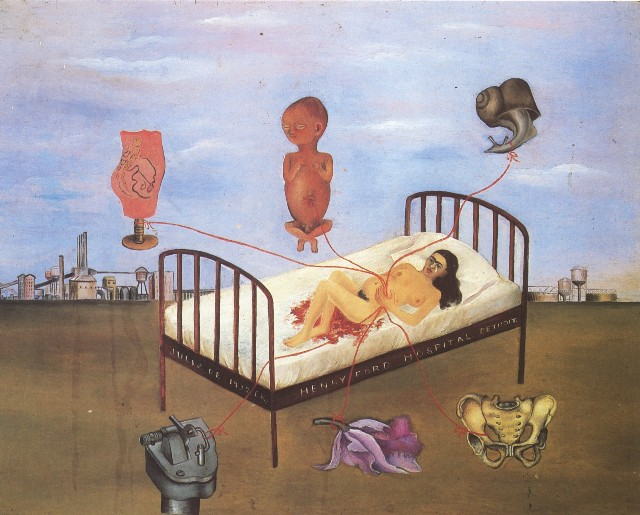 Frida Kahlo, La Cama Volando (1932)