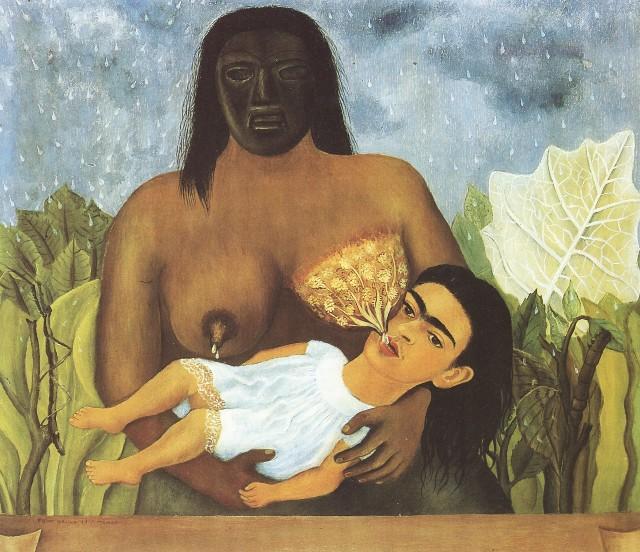 Frida Kahlo, Mi Nana Y Yo (1937)