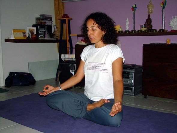 Minha gravidez iogue - Heliane Garcia, praticante desde 1991  (Foto: Camila Ribas)