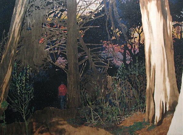Into the Gloaming - série The Dark Woods (arte de Jamie Vasta)