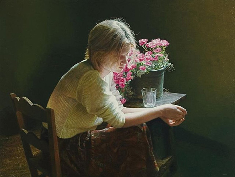 Tu Me Sondeas Y Me Conoces (Pintura de Isabel Guerra)