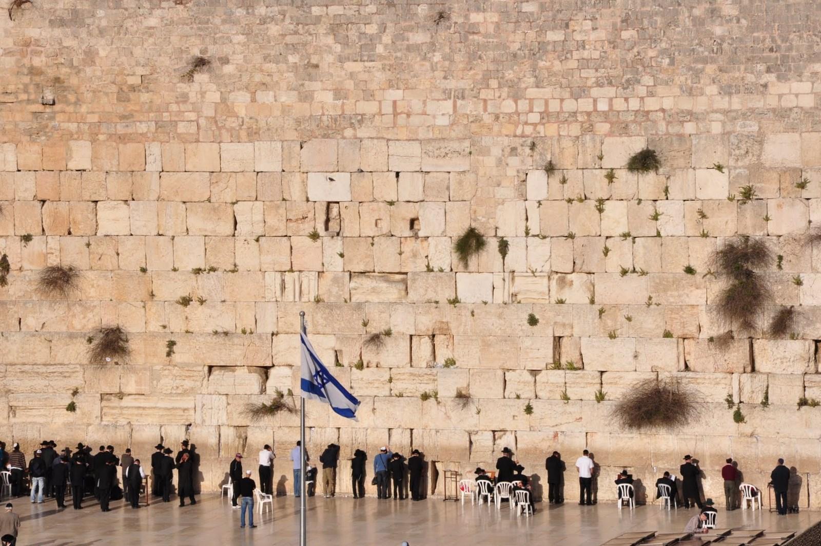 Yom Hatzmaut: Israel comemora independência - Kotel - Muro das Lamentações (Foto: Daniela Feldman)