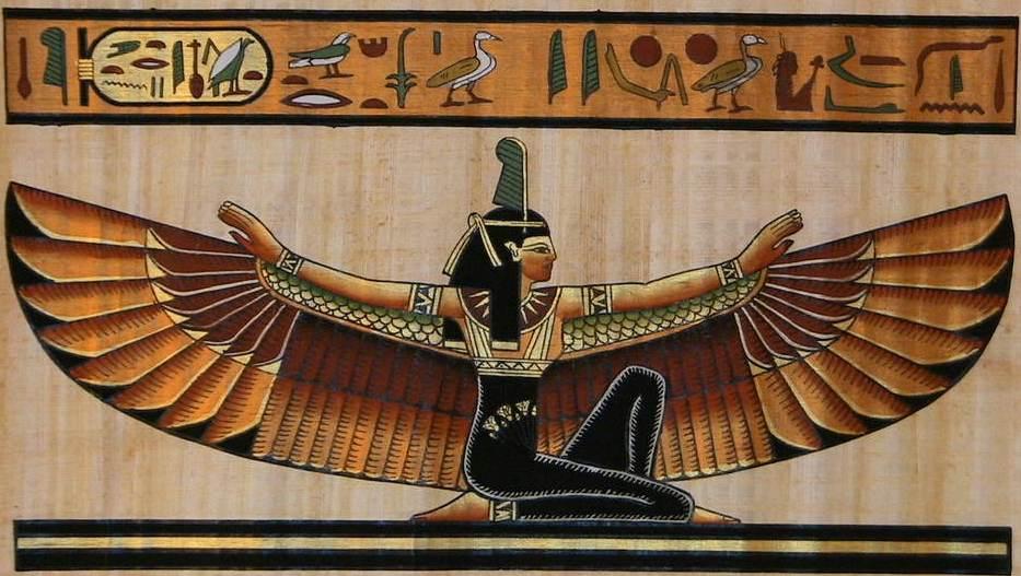 MAAT – A verdade é jovem - Maat (Arte: Papyrys S)