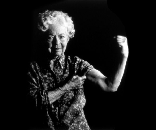 Mulheres-Macho - Nana was always a strong woman (Foto: Lisa Folino)