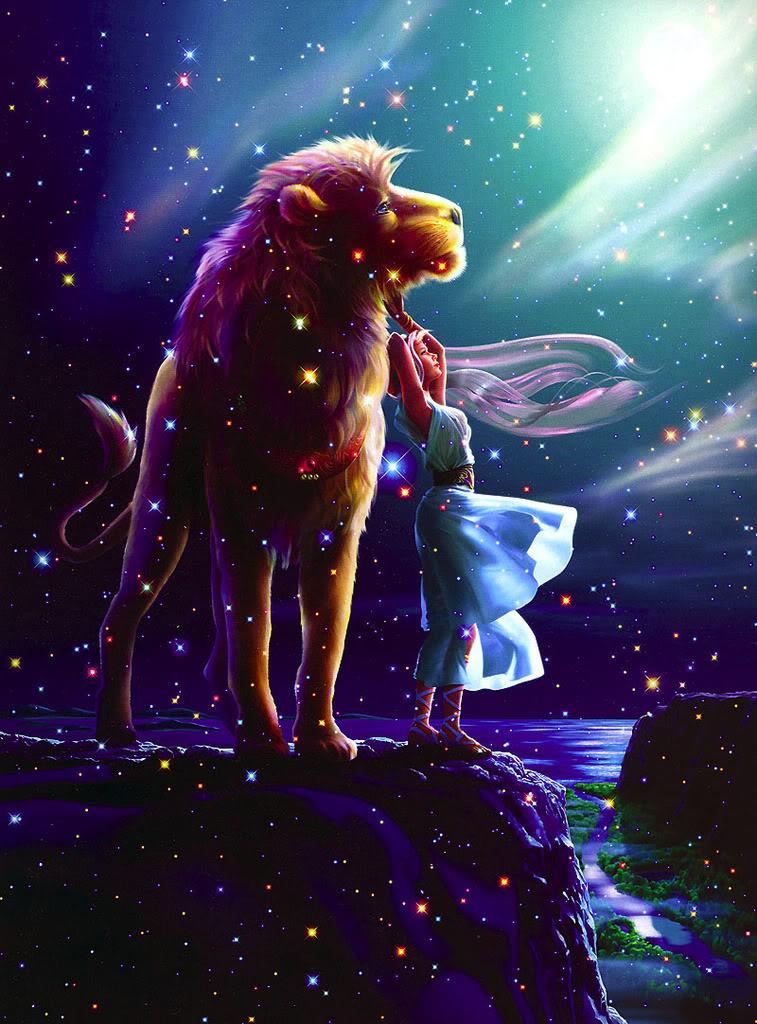 Leão - O Zodíaco Leão (Ilustração de Kagaya)
