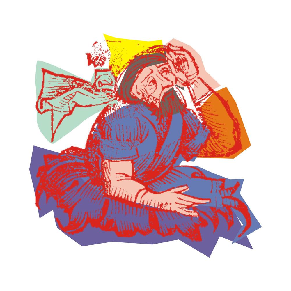 Ser e pensar é o mesmo - Parmênides (Ilustração de Nina Jares)