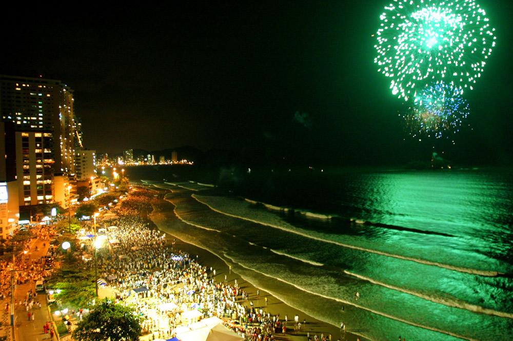Uma virada - Réveillon na Praia de Boa Viagem, Recife - PE (Foto: Divulgação)