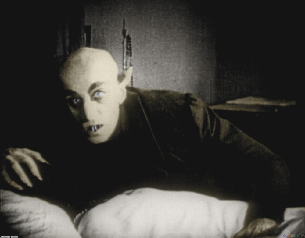 10º Café Cultural Fafire discute cinema alemão - O ator Max na pele do vampiro Schreck Conde Orlok / Nosferatu (Foto: Divulçação)