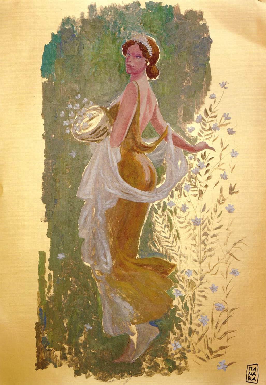 Saias-sóis - The Mysterious Beauty (Ilustração de Milo Manara)