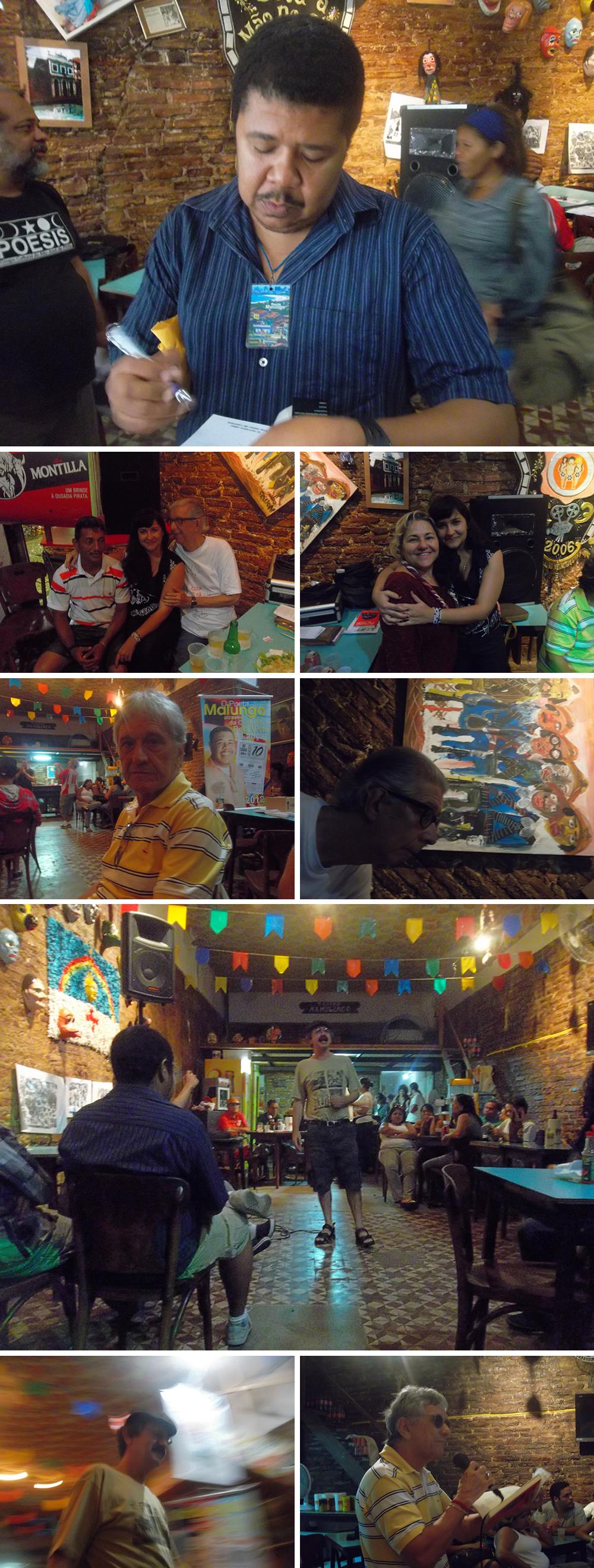 Fotos do evento de comemoração de 10 anos do 'De cara com a Poesia'