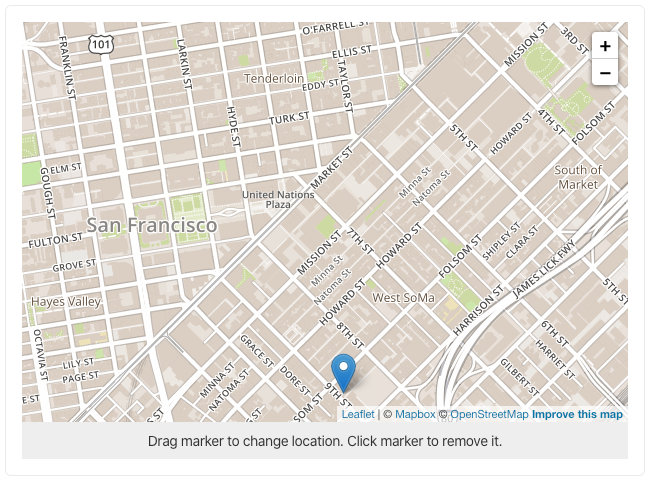 sanity-plugin-leaflet with MapBox