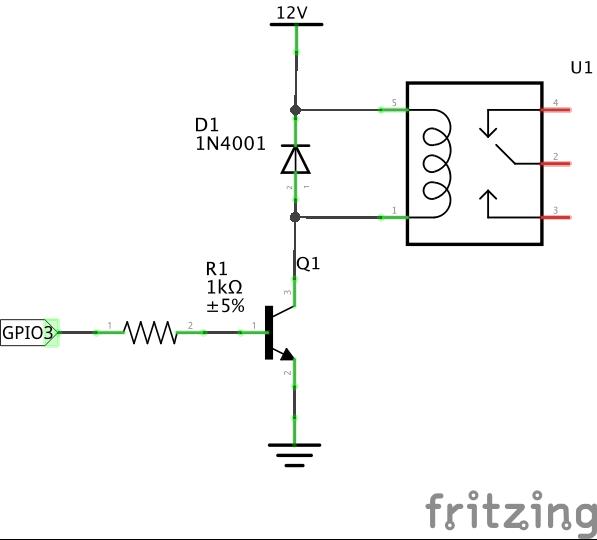 Antenna controller schematic