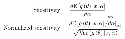 sensitivity definition