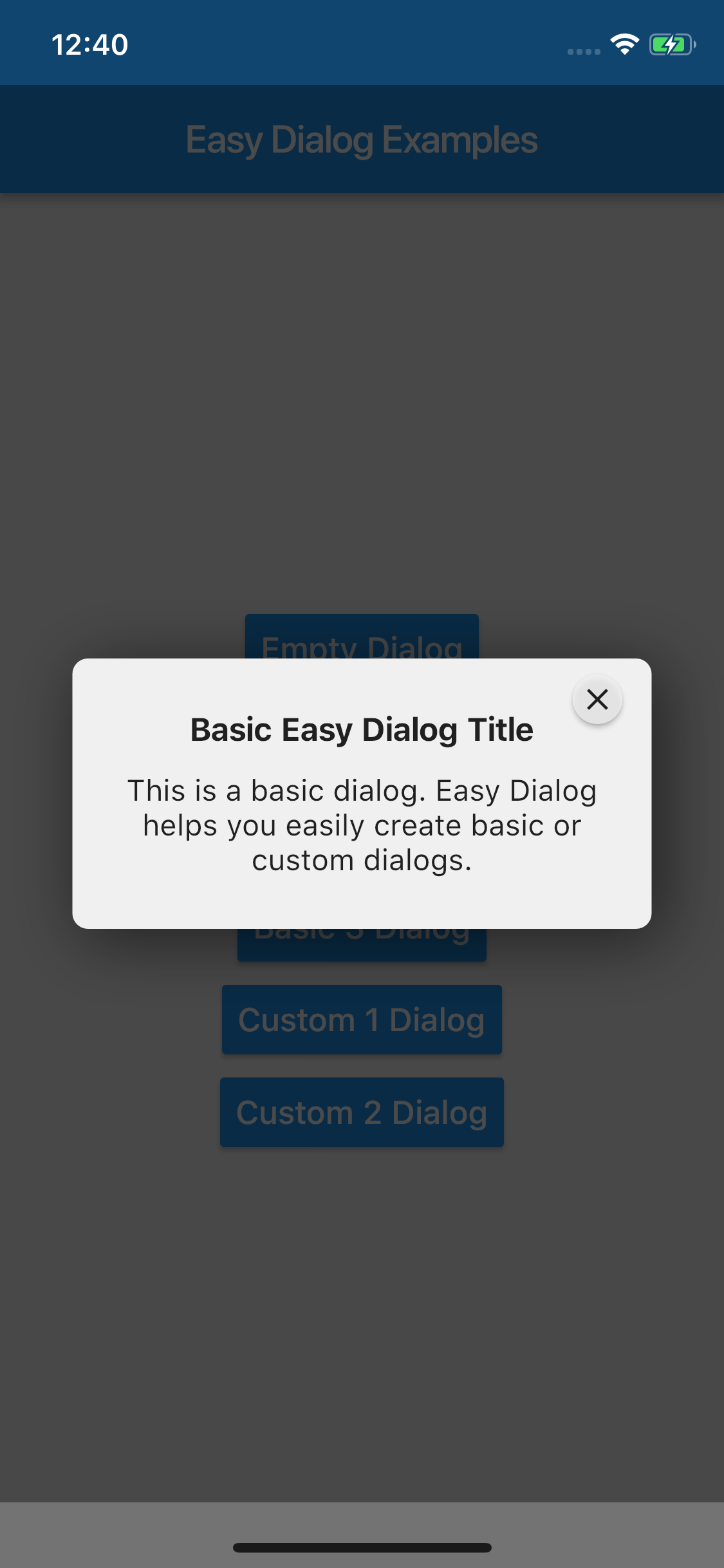 easy_dialog | Flutter Package