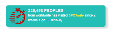 spotmify fomo social proof marketing in tosca color