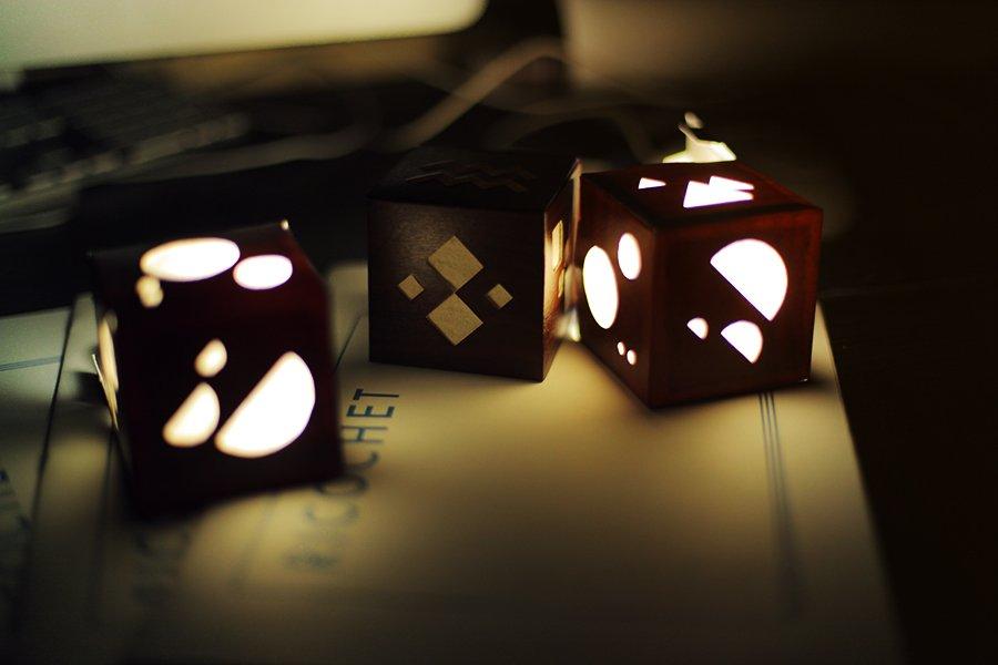 Ricochet cube proto