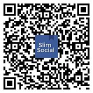 Aplikace SlimSocial na Facebooku (~ 700Kb & 0 Zbytečné oprávnění) Qrcode