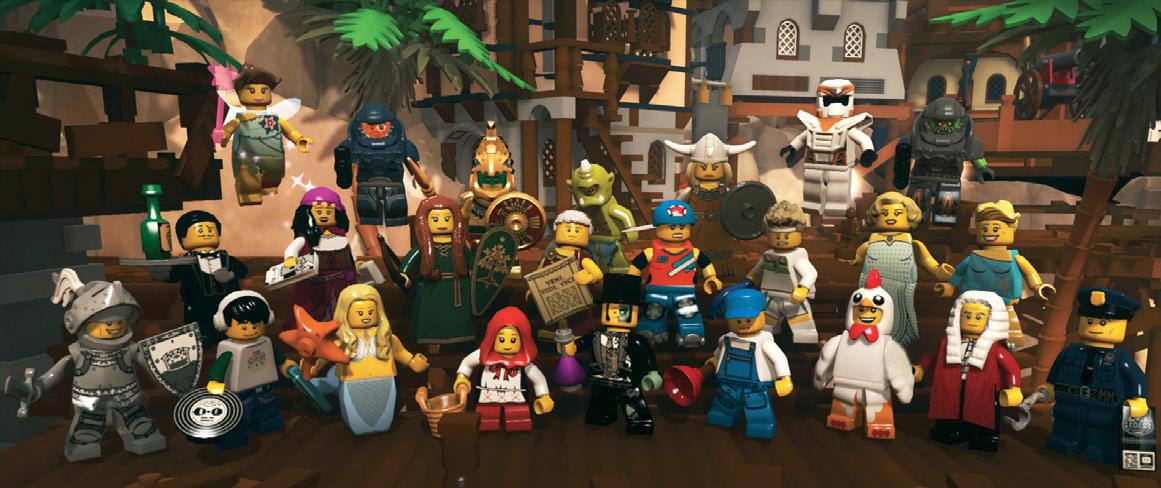 LEGO Minifiures Online - Information Timeline LEGO_Minifigures_2