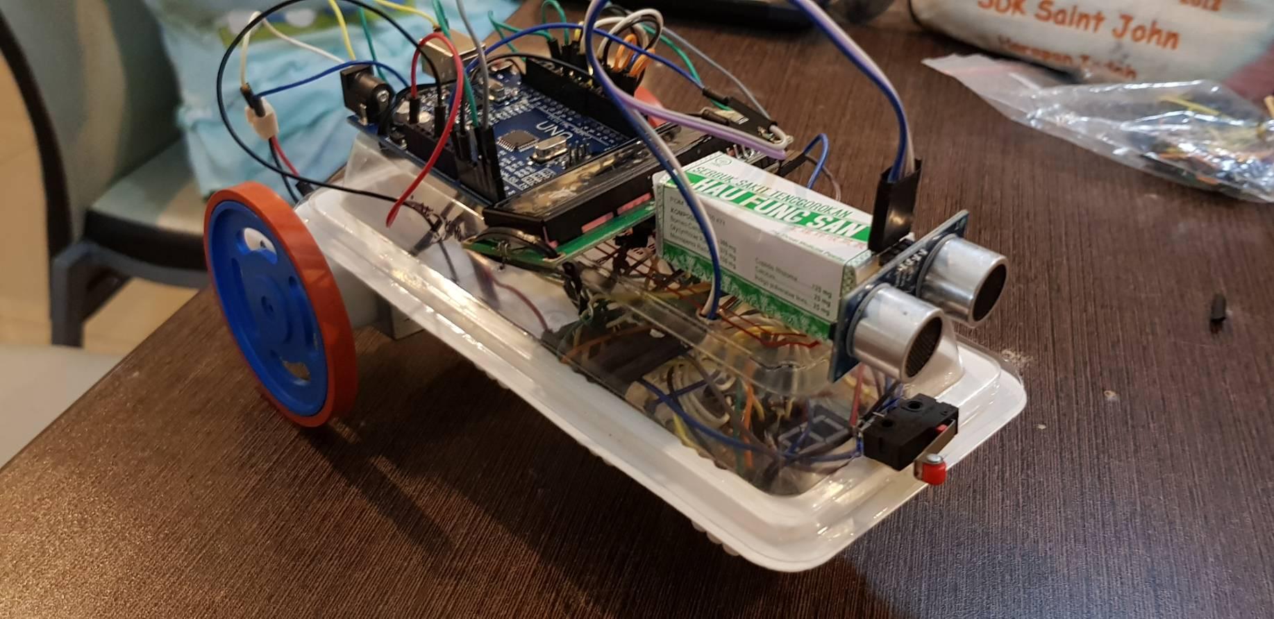 Model Arduino Tampak samping