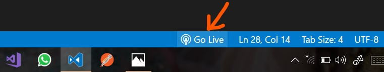 Go Live Control Preview